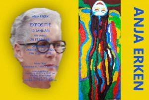 Expositie Anja Erken: Kleur